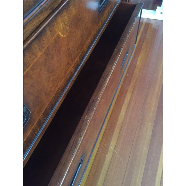 Hickory White Mahogany Highboy Dresser - Image 5 of 5