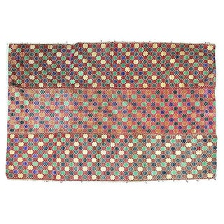 Handwoven Hill Tribe Dowry Quilt For Sale