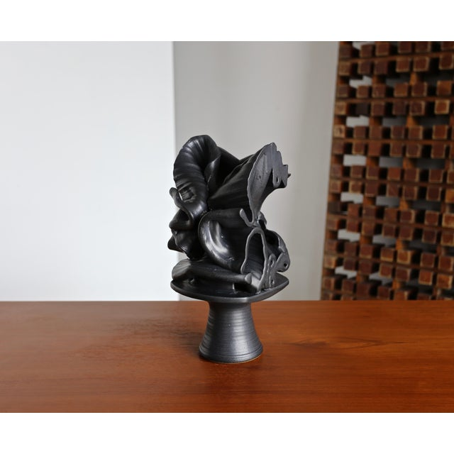 Tim Keenan Abstract Ceramic Sculpture For Sale - Image 4 of 12