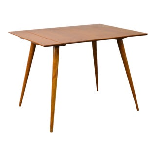 Paul McCobb Planner Group Small Expandable Solid Maple Dining Table