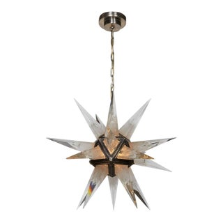 Moravian Star Chandelier For Sale