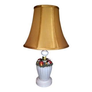 1965 Lady Bug Porcelain Table Lamp