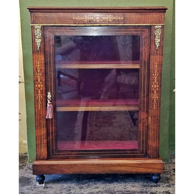 19c French Louis XVI Style Vitrine For Sale - Image 13 of 13