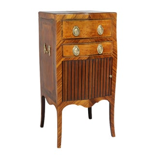 George III Rosewood and Satinwood Beau Brummel For Sale