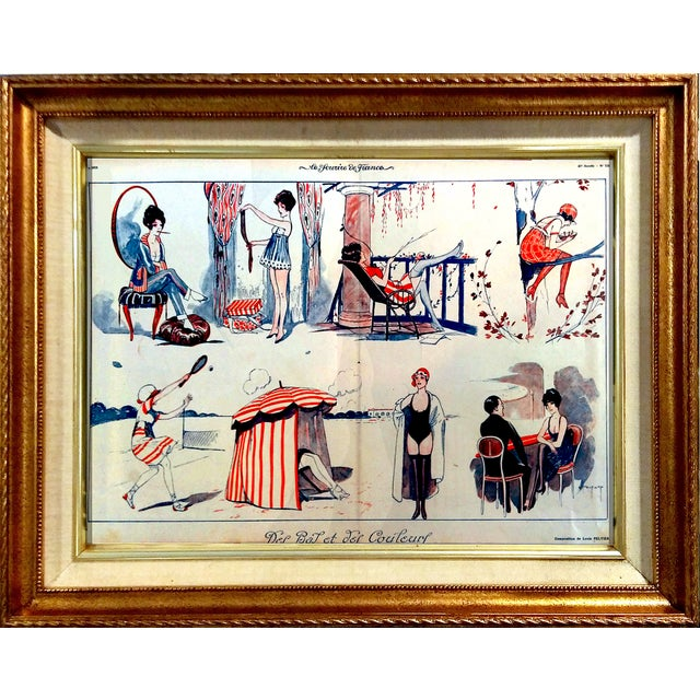 """1919 Le Sourie """"Girls Day Off"""" Print - Image 1 of 10"""