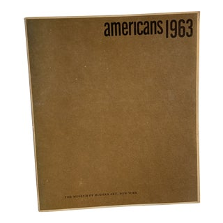 1963 Americans Museum of Modern Art Book For Sale