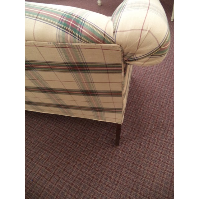 Paul Robert Chippendale Style Camelback Sofa For Sale In Orlando - Image 6 of 9
