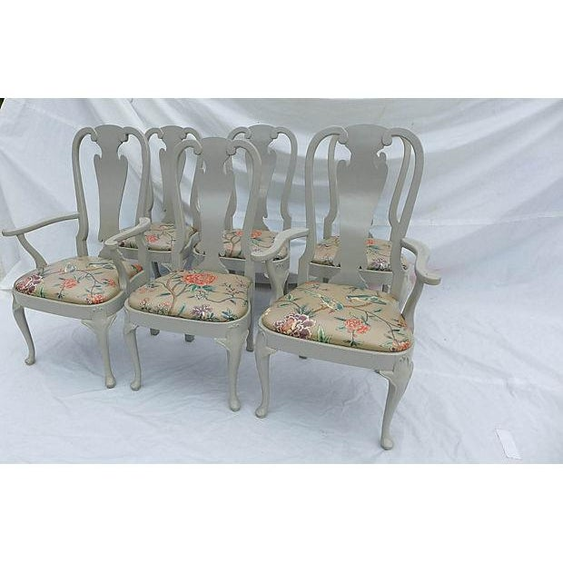 Coastal Living Henredon Dining Chairs - S/6 For Sale - Image 9 of 9