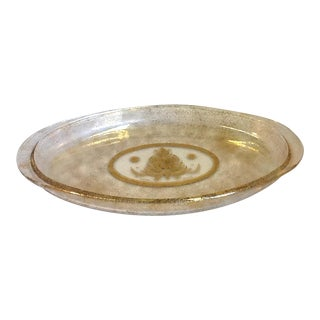 Georges Briard Mid-Century Modern Glass Serving Tray