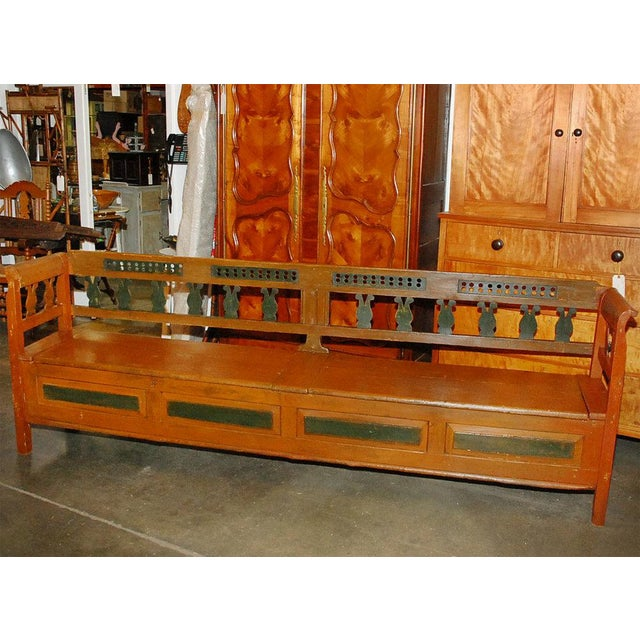 European Long Bench For Sale - Image 4 of 4