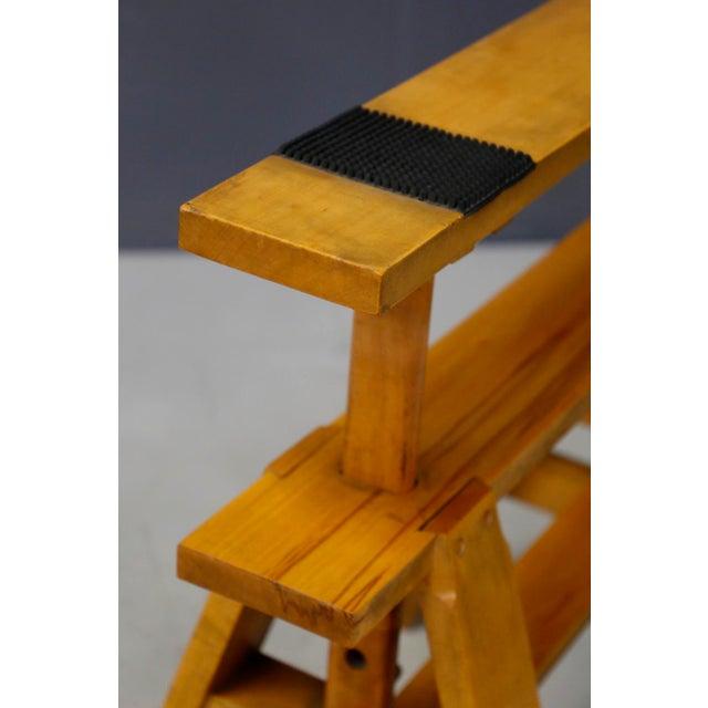 Zanotta Pair of MidCentury Easels for Leonardo Table by Achille Castiglioni for Zanotta For Sale - Image 4 of 8