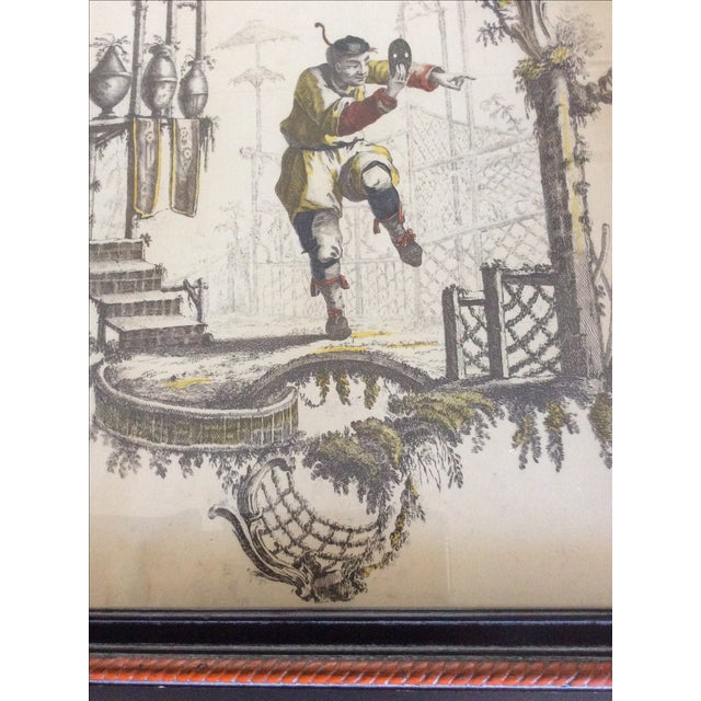 Vintage Borghese Chinese Print - Image 4 of 4