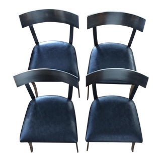 Set of 4 Design Institute of America Klismos Chairs For Sale