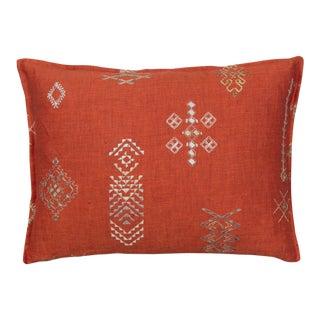 Tumbleweed Vermilion Pillow