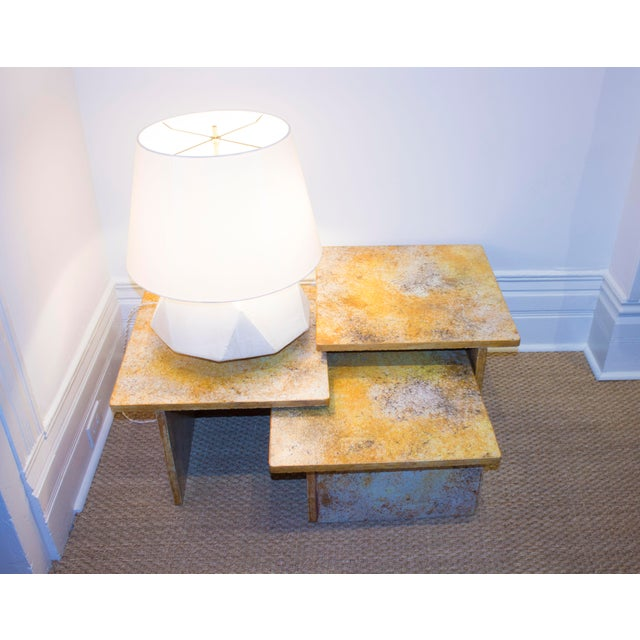 Mid-Century Modern Vintage Nesting Table-Set of 3 For Sale - Image 3 of 5
