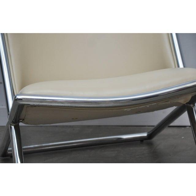 Mid-Century Modern Ward Bennett Scissor Chairs For Sale - Image 3 of 7