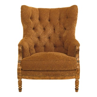 Paul Robert Tufted Decorator Upholstered Living Room Chair