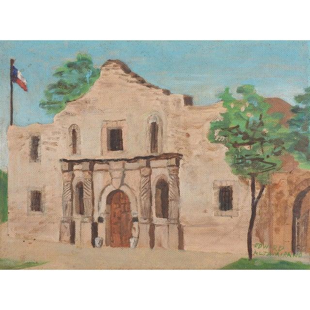 The Alamo, San Antonio, Texas Painting For Sale - Image 4 of 4