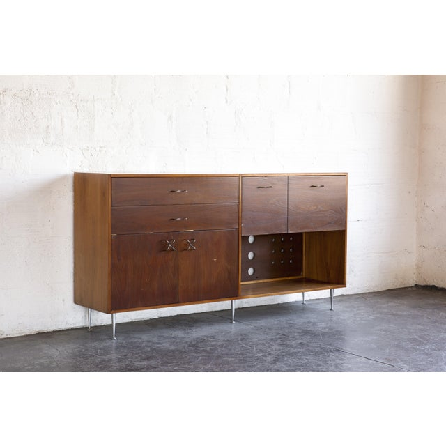 1970s Mid-Century Modern George Nelson for Herman Miller Credenza For Sale In Portland, OR - Image 6 of 13