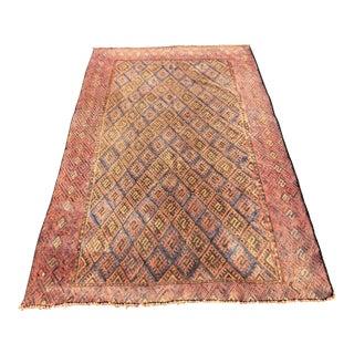Vintage Persian Sumac Rug - 3′10″ × 6′2″