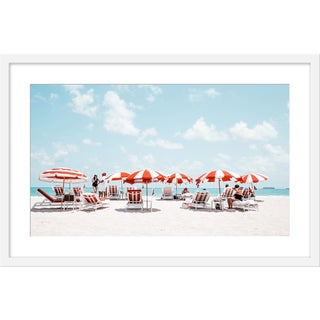 "Medium ""Miami Ii"" Print by Natalie Obradovich, 30"" X 20"" For Sale"
