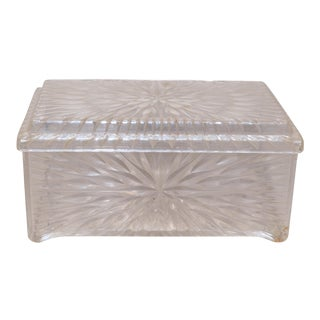 Acrylic Starburst Dresser Box For Sale