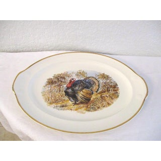 1950s Traditional Tom Turkey Ceramic Platter Preview