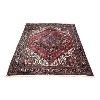 "Bellwether Rugs ""Radhika"" 1960s Heriz - 9′9″ × 11′ For Sale"