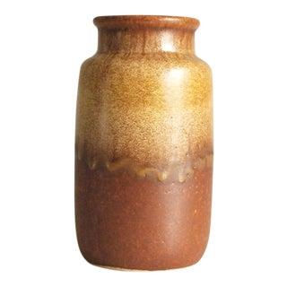1960s West German Pottery Vase by Scheurich Keramik For Sale
