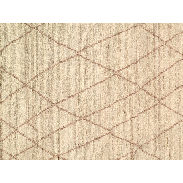 Pasargad N Y Moroccan Hand-Knotted Rug - 4′ × 6′ For Sale - Image 4 of 5