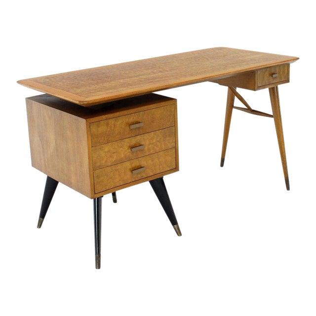 Mid Century Modern Birch Writing Desk Chairish