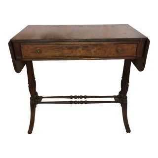 Antique Mahogany Drop-Leaf Table