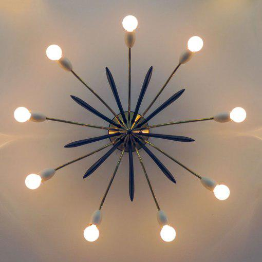 Nine-Arm Sputnik Light - Image 8 of 10