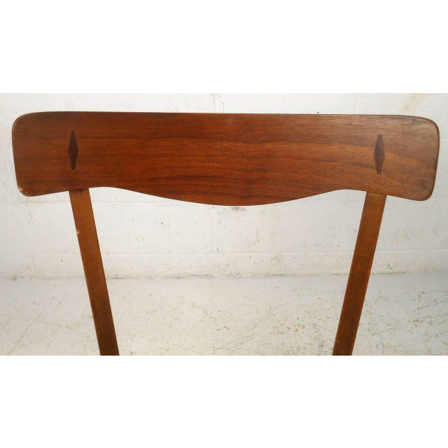 Brown American of Martinsville Mid Century Matching Desk & Chair For Sale - Image 8 of 10
