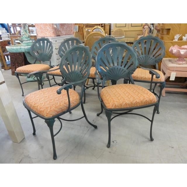 Vintage Shell Back Chairs - Set of 6 - Image 3 of 11