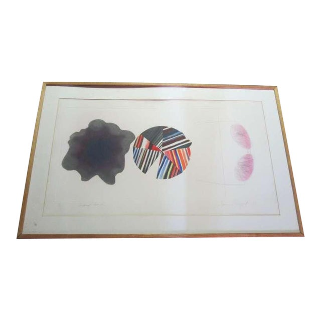 """Federal Spending"" by James Rosenquist ed. 18/78 - Pencil Signed For Sale"