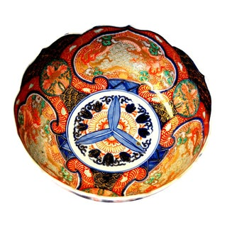 Porcelain Bowl Japanese Imari
