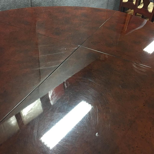 Expandable Circular Dining Table - Image 6 of 10