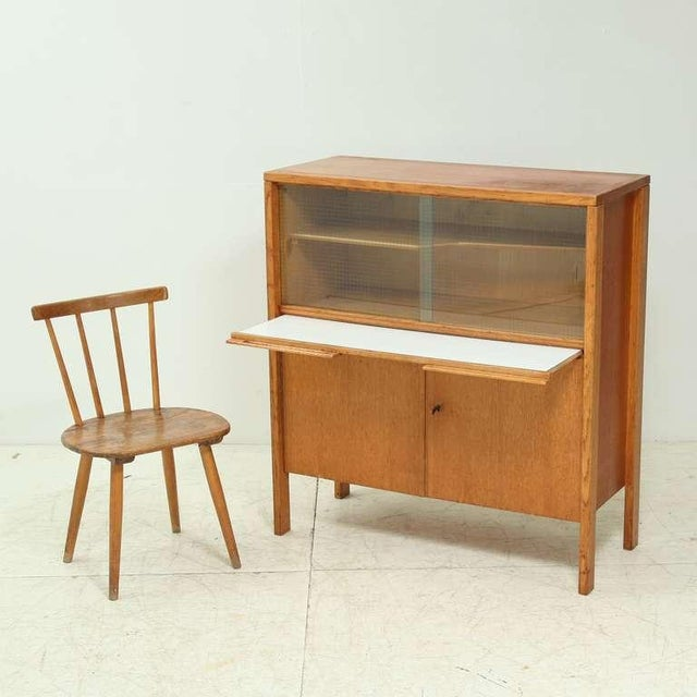 Cees Braakman early Cupboard or Bar in Oak, Netherlands, 1940s/50s - Image 3 of 7