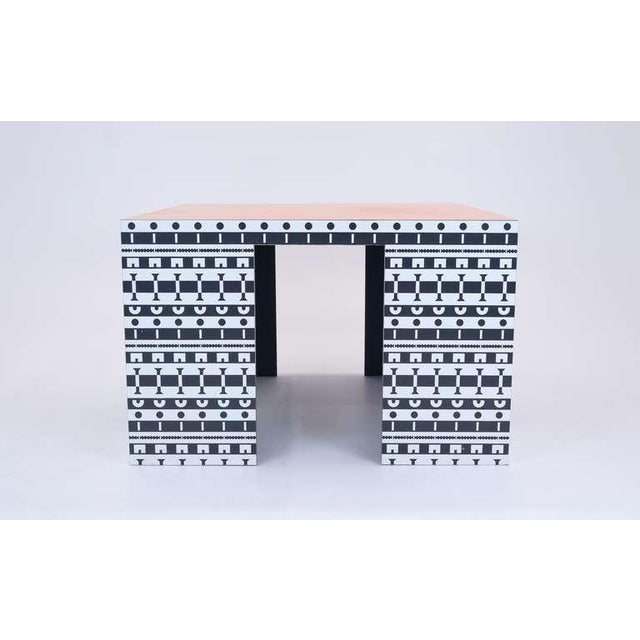 Alessandro Mendini and Alessandro Guerriero Table and Chairs For Sale In Kansas City - Image 6 of 9