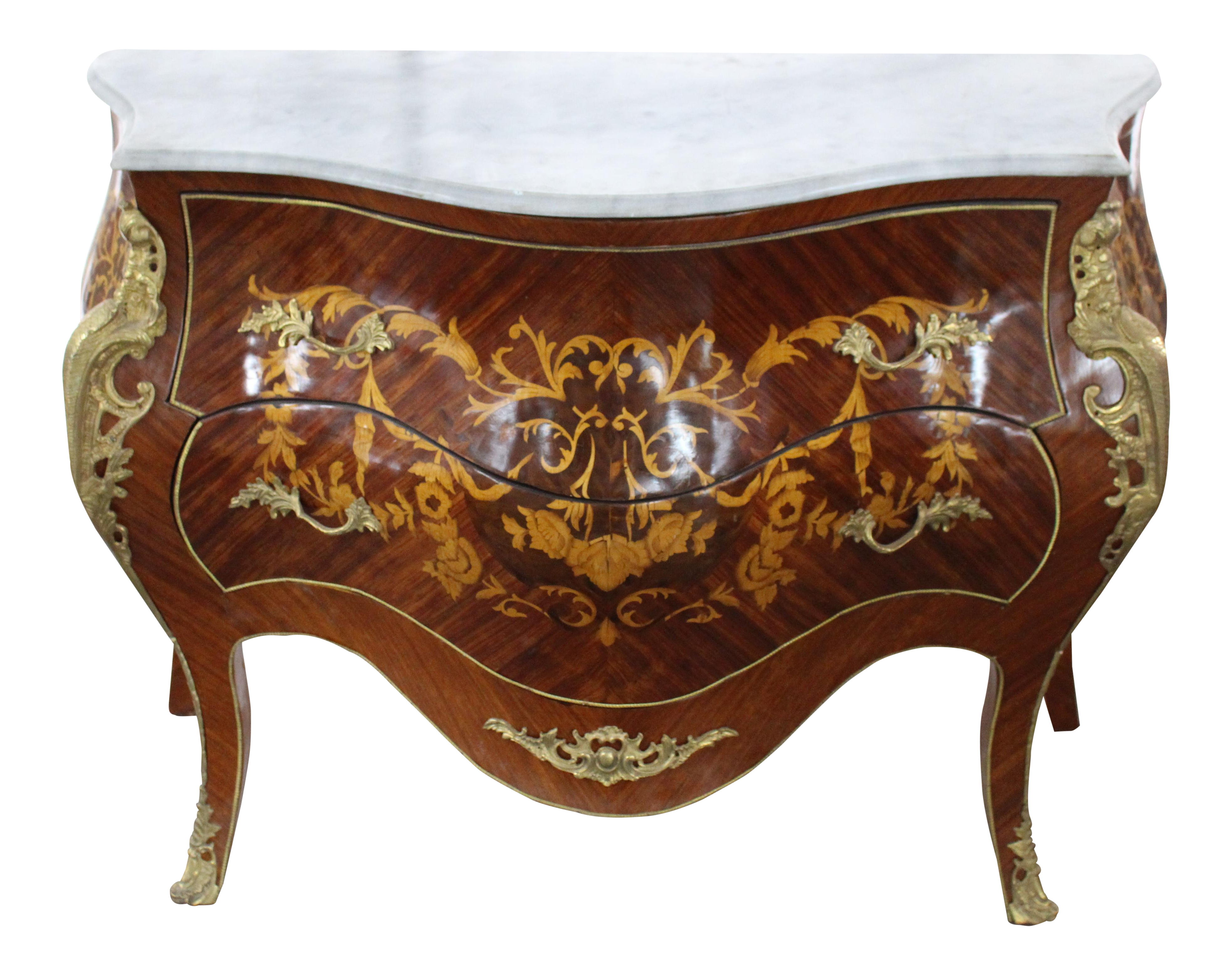 Mid 19th Century Antique French Bombay Commode