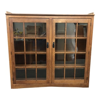 New Country Honeybee Furniture Oak Double Door Cabinet For Sale