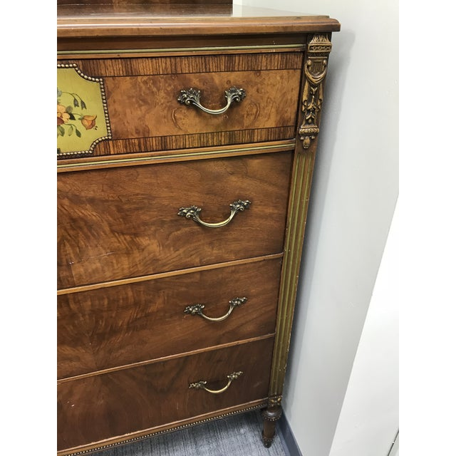 1930's Revell's Chicago Louis XVI Style Chest of Drawers For Sale - Image 5 of 12