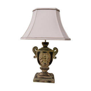 Shabby Chic Urn Accent Lamp For Sale