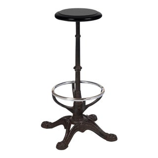 French Art Nouveau Period Bar Stool For Sale