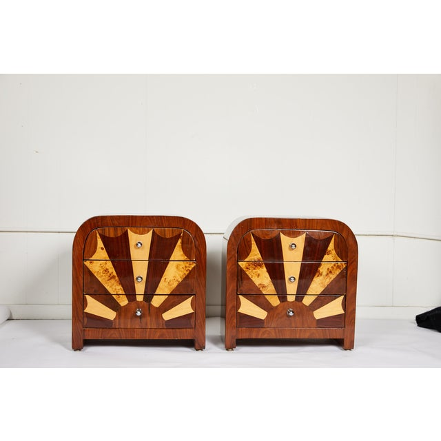 Mid 20th Century Pair of Midcentury Italian Side Tables For Sale - Image 5 of 10