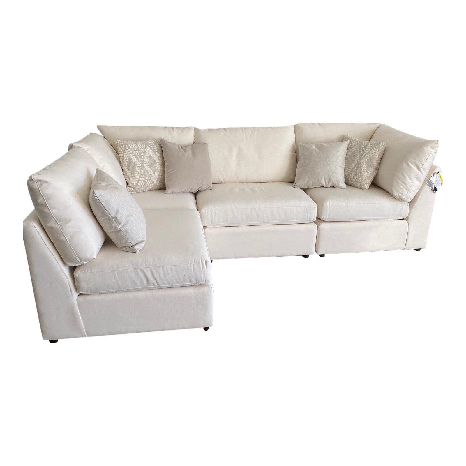 Bassett Furniture, Beckham Sectional Sofa