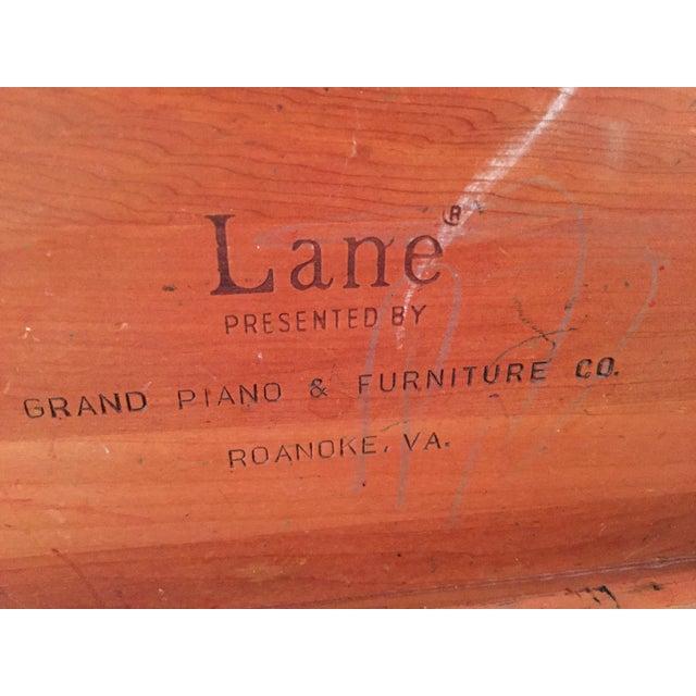 Lane Cedar Handmade Wooden Box, 1980s For Sale In Columbia, SC - Image 6 of 9
