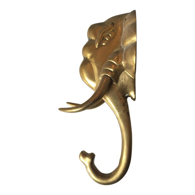 Brass Elephant Hook - Image 1 of 4
