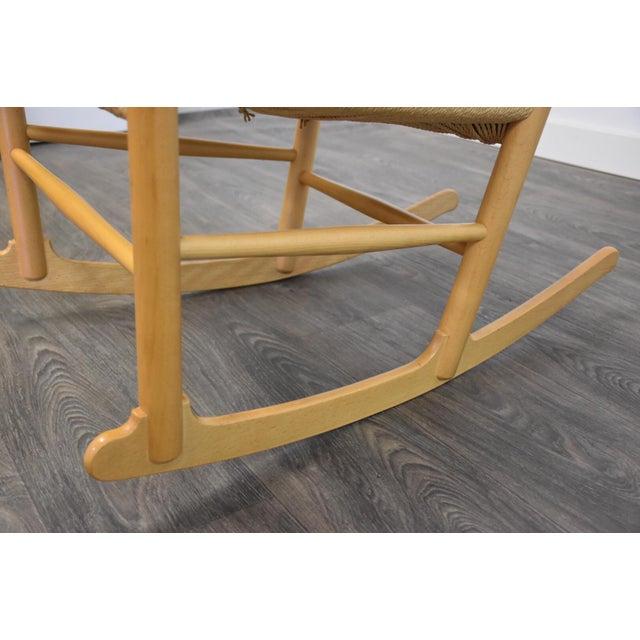 Hans Wegner Danish Rocking Chair For Sale - Image 9 of 10